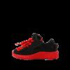 TARANIS 泰兰尼斯 儿童休闲运动鞋 黑红 25码(鞋内长16.0cm)