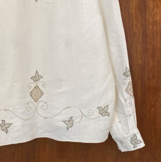 BODE 女士刺绣长袖衬衫