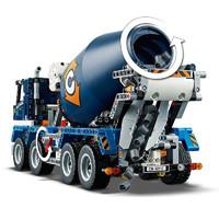 LEGO 乐高 LEGO乐高积木42112混凝土搅拌运输车男儿童拼装玩具