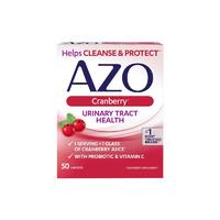 AZO 蔓越莓益生菌片 50片/盒