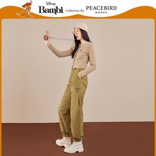 PEACEBIRD 太平鸟 小鹿斑比联名 A6DCA4354 女士短针织上衣