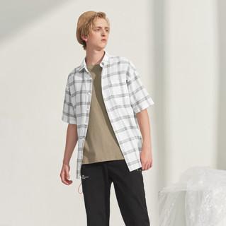 A21 男士短袖衬衫 R402110004