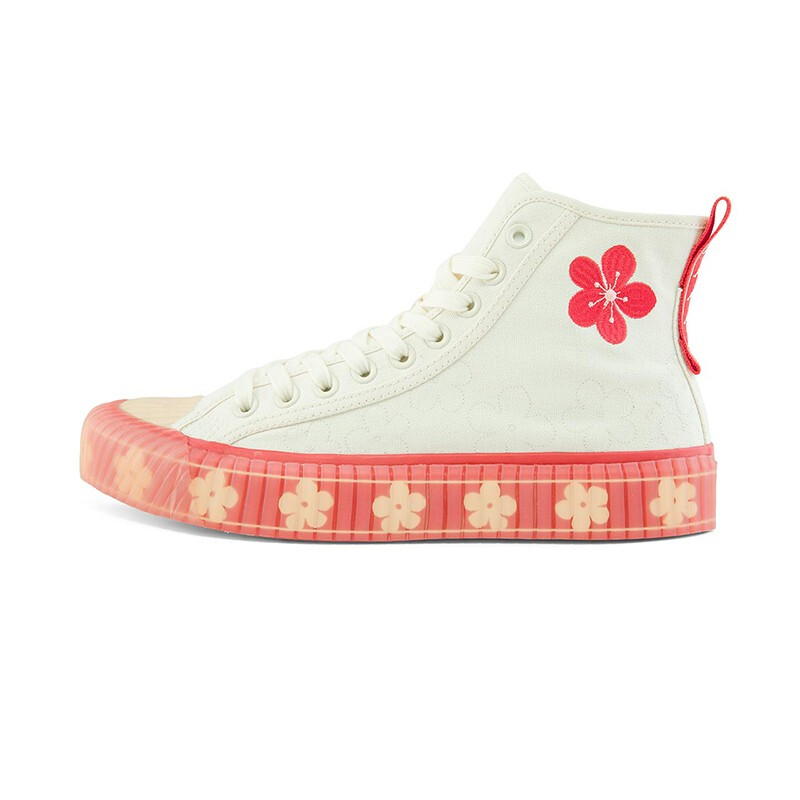 Kappa 卡帕 中性运动板鞋 K0BW5VS22D-024 鹭羽白/栗红 43