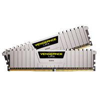 USCORSAIR 美商海盗船 复仇者LPX系列 DDR4 3200MHz 银色 台式机内存 16GB 8GBx2