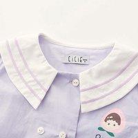 cicie C01040 女童娃娃领衬衣