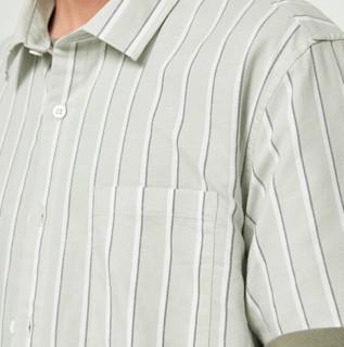 A21 男女款短袖衬衫 R412110013