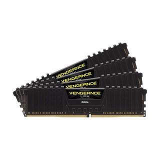 美商海盗船(USCORSAIR) 128GB(32G×4)套装 DDR4 3200 台式机内存条 复仇者LPX系列 游戏型