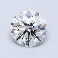 Blue Nile 0.61克拉 圆形切割钻石(理想切工、F级成色、VS2 净度)