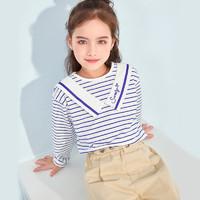 cicie C11028 女童长袖T恤 粉色 120/60cm