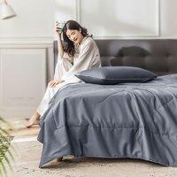 每晚深睡 60支长绒棉贡缎空调被 150*200cm