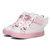 SKECHERS 斯凯奇 TWINKLE TOES系列 20168L 女童帆布鞋