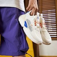 安踏男鞋运动鞋2021春夏新款休闲鞋轻便健身透气运动鞋老爹鞋