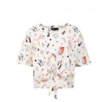 ONLY 梦游仙境系列 女士圆领短款T恤 120201575