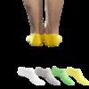 三珠绵 男士短袜套装 S068 4双装 混色