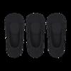 UNIQLO 优衣库 女士船袜套装 435864 3双装 黑色 23-25cm