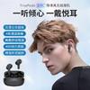 Dacom TinyPods真无线蓝牙耳机 ENC降噪耳机运动跑步音乐耳机游戏无感延迟适用苹果华为 黑色