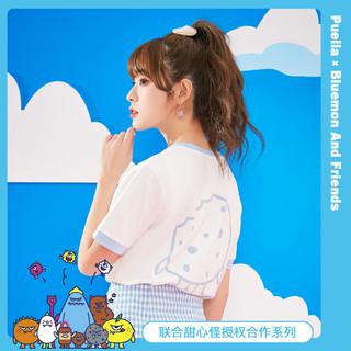 Puella 甜心怪兽联名款 2A11380TSIP638 女士T恤