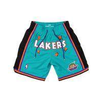 Just Don 湖人队联名款 中性复古运动短裤 SHORDL20015-LALTEAL95