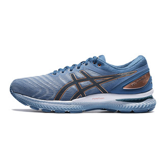 ASICS 亚瑟士  Gel-Nimbus 22 男子跑鞋 1011A685-023 灰蓝色