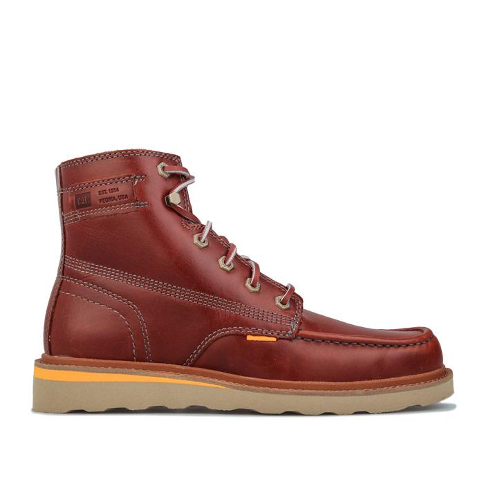 CAT 卡特彼勒 男士 Jackson Moc 皮靴