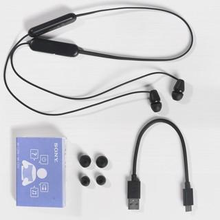 SONY 索尼 WI-C200 颈挂式蓝牙运动耳机 黑色
