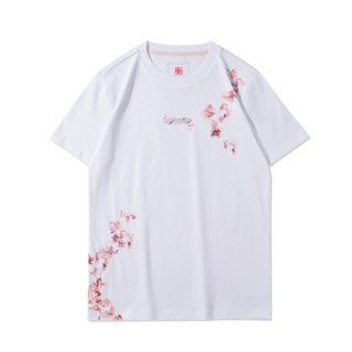 LI-NING 李宁 樱花系列 女子运动T恤 AHSR626