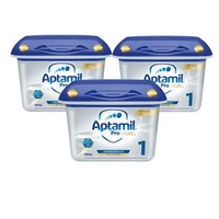 Aptamil 爱他美 白金版婴儿配方奶粉 1段(0-6个月)800g*3
