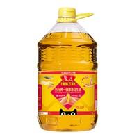 鲁花 香飘万家5S压榨一级浓香花生油6.08L桶装食用油