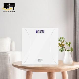 惠寻 KE-01 智能体重秤 优雅白