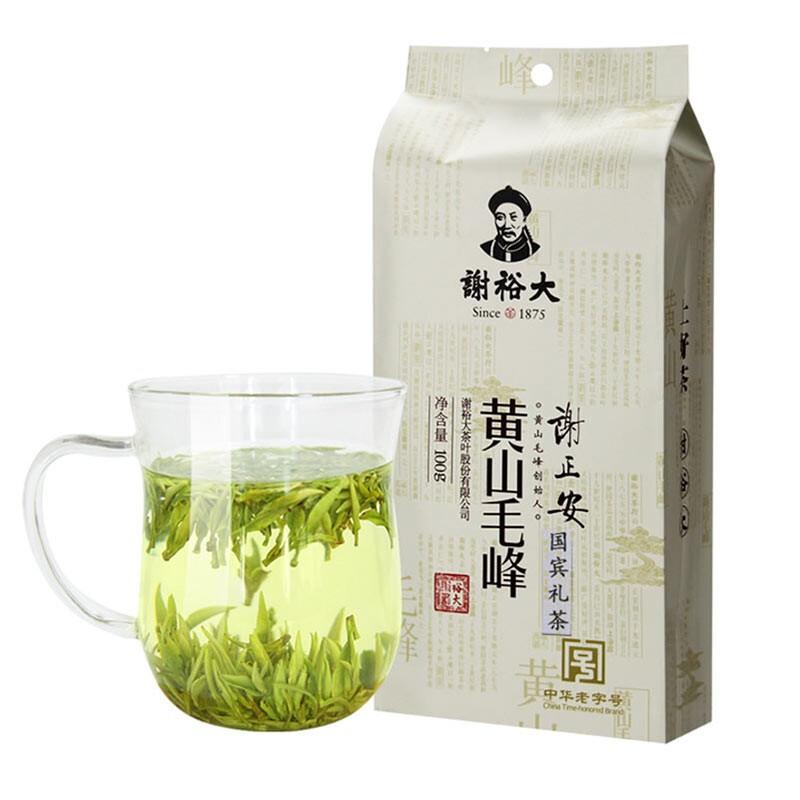 谢裕大黄山毛峰明前开园茶100g绿茶叶袋装
