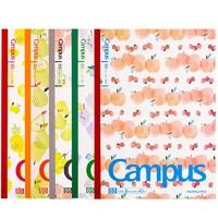 KOKUYO 國譽 限定款Campus水果 筆記本子 5本裝