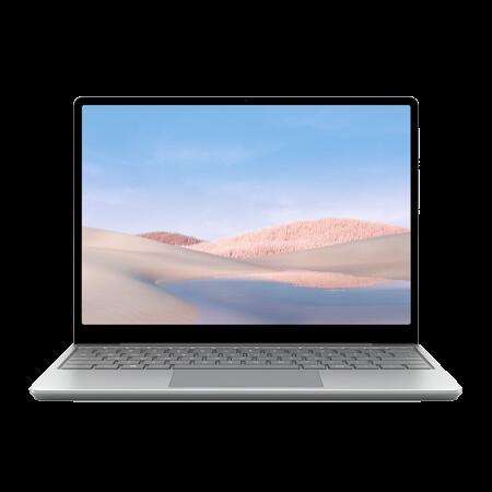 Microsoft 微软 微软Surface Laptop Go + 65W便携PD快充头套装  i5 4G+64G 亮铂金/银  触控轻薄本  12.4英寸 高色域