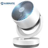 AIRMATE 艾美特 CA15-X28 家用空气循环扇 白色