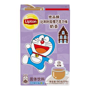 京东PLUS会员:Lipton 立顿 绝品醇英式金装奶茶固体饮料 190g