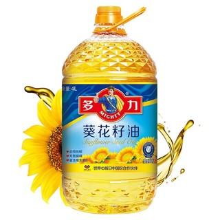MIGHTY  多力葵花籽油  4L
