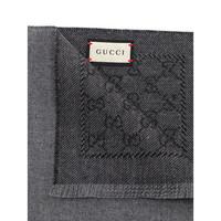 GUCCI 古馳 402093-4G200-1162 雙G印花圍巾