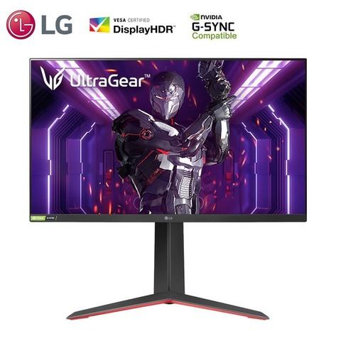 LG 乐金 27GP83B 27英寸IPS显示器(2560×1440、165Hz、1ms)