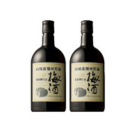 黑卡会员:三得利 山崎 烘焙桶酿梅酒 660ml*2瓶