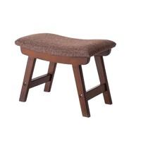 布藝小凳子家用創意換鞋凳茶幾凳子客廳實木板凳簡約現代沙發矮凳