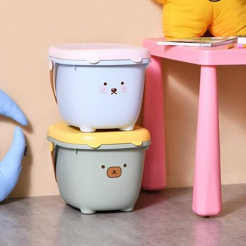 Citylong 禧天龙 萌趣儿童收纳桶凳