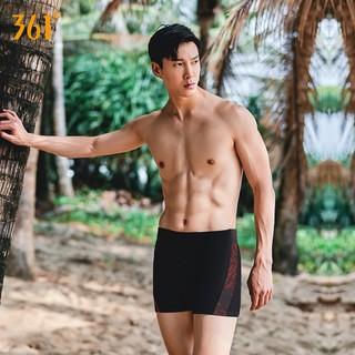 361° SLY214018-9 男款平角泳裤