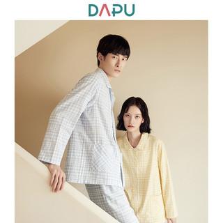 DAPU 大朴 AF1F12201 男女经典纯棉睡衣套装