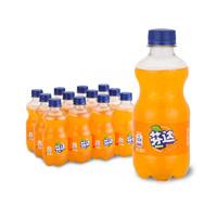 限地区:Coca-Cola 可口可乐 芬达 Fanta 橙味   碳酸饮料 300ml*12瓶