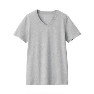 MUJI 无印良品 BBA02A0S 女士V领T恤
