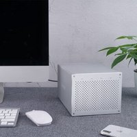 奥睿科(ORICO)磁盘阵列柜usb3.0硬盘柜SATA串口全铝台式机外置盒