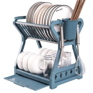 摇篮粑粑 碗碟收纳沥水架 33*24*31cm