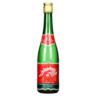 西凤酒55度高脖绿瓶凤香型500ml高度纯粮食整箱白酒 光瓶单支装