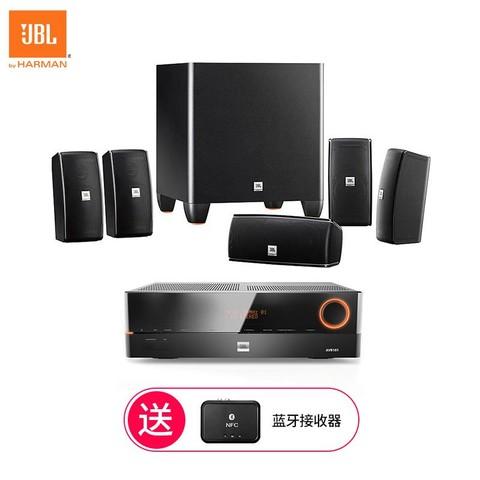 JBL Cinema 610 JBL AVR101功放 客厅卧室家庭影院5.1 电视音响套装