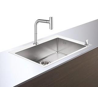 Hansgrohe 汉斯格雅 梦迪诗Select200 厨房水槽套餐 单槽