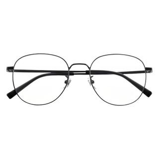 MIJIA 米家 黑色钛金属眼镜框+防蓝光镜片